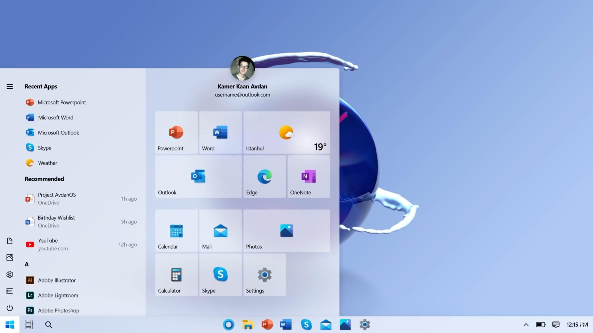 Безумно красивый концепт Windows 20 — еслибы ОС делала неMicrosoft