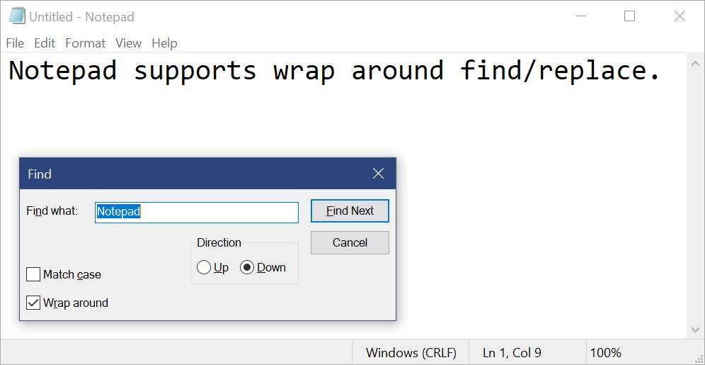 Блокнот (notepad.exe) Windows 10 стал отдельным приложением вStore иобновился