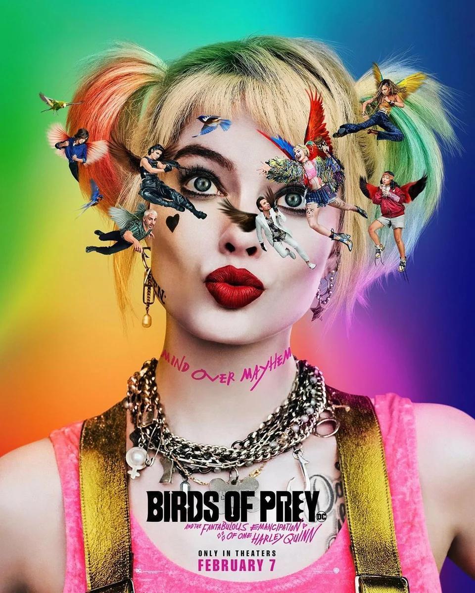 Хищные птицы: Потрясающая история Харли Квинн / Birds ofPrey: And the Fantabulous Emancipation ofOne Harley Quinn (2020)
