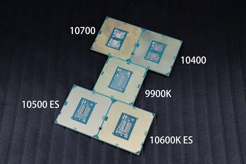 Intel Core i7-10700 показывает себя науровне Ryzen 7 3700X,  i5-10600K — 3600X