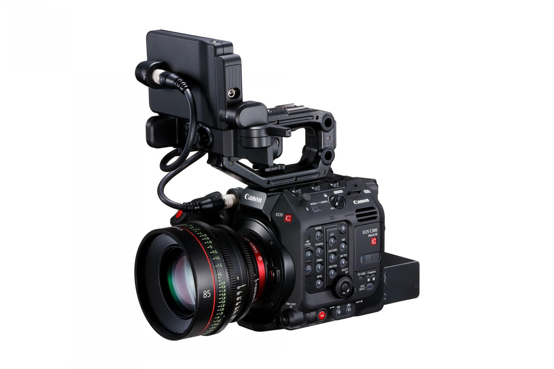 Новинка отCanon: камера EOS C300 Mark III сдатчиком DGO