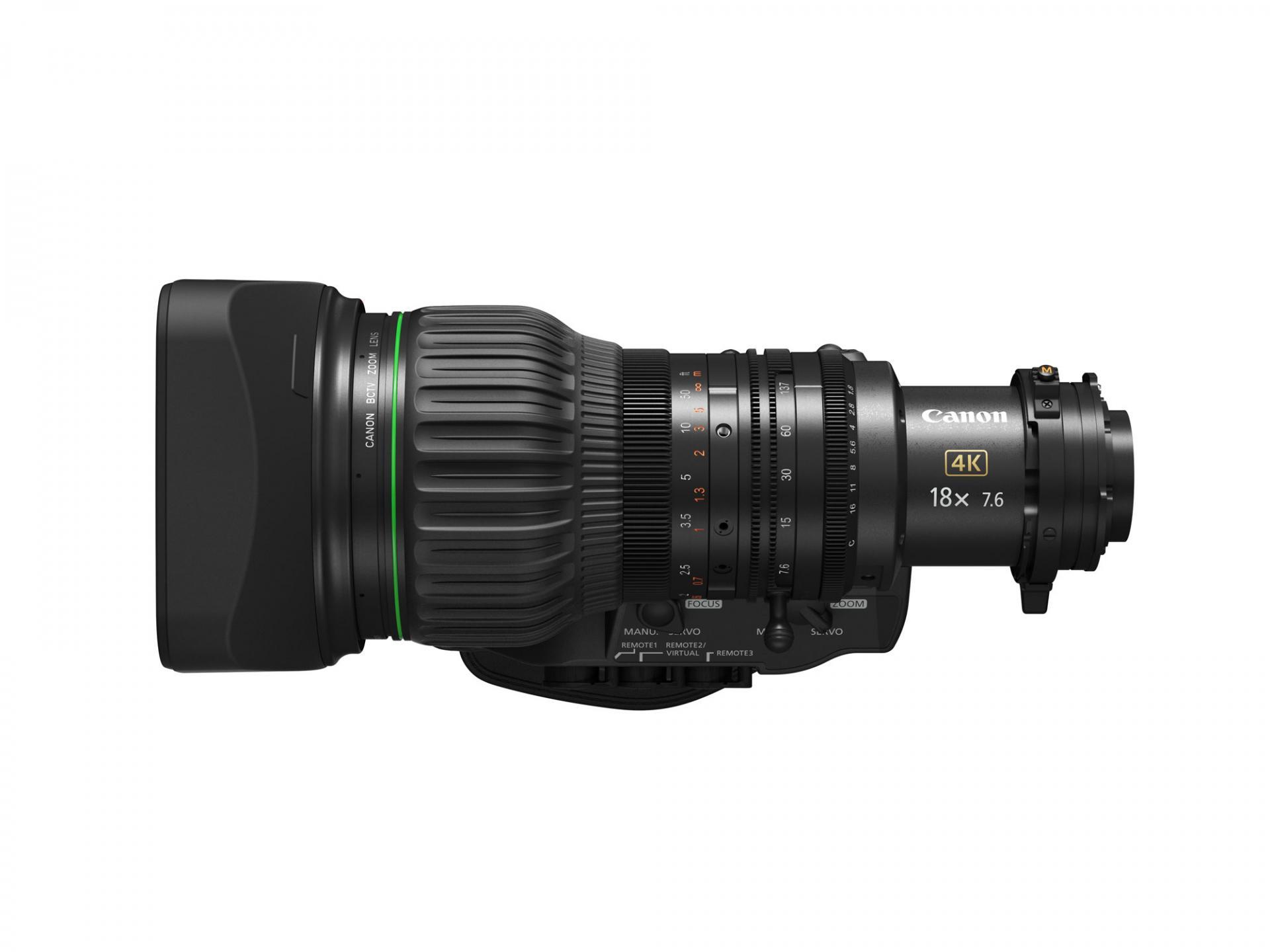 Новый компактный объектив CJ18ex7.6B KASE отCanon для съемки в4К-разрешении