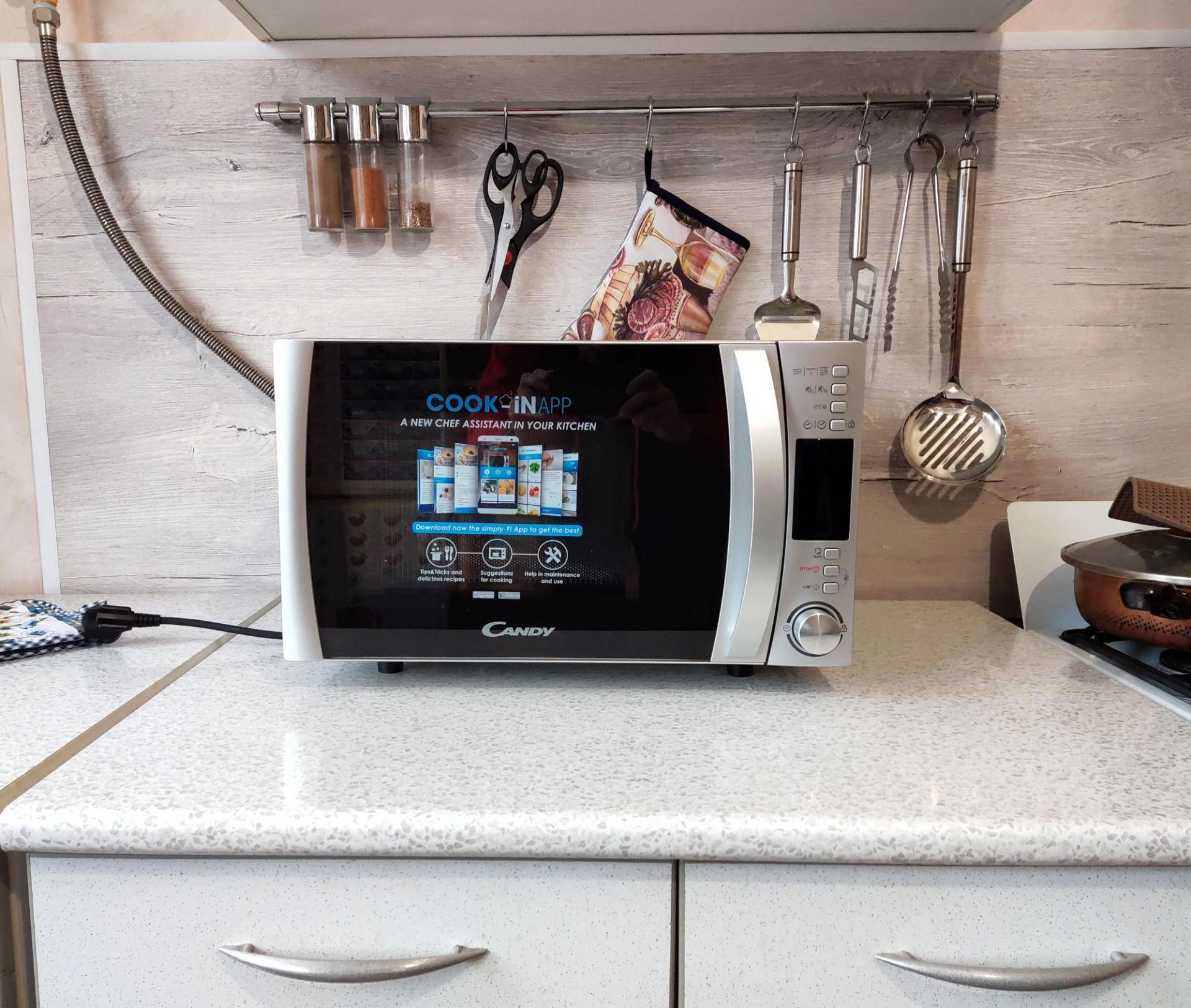 Обзор микроволновой печи Candy CMXG 22 DS