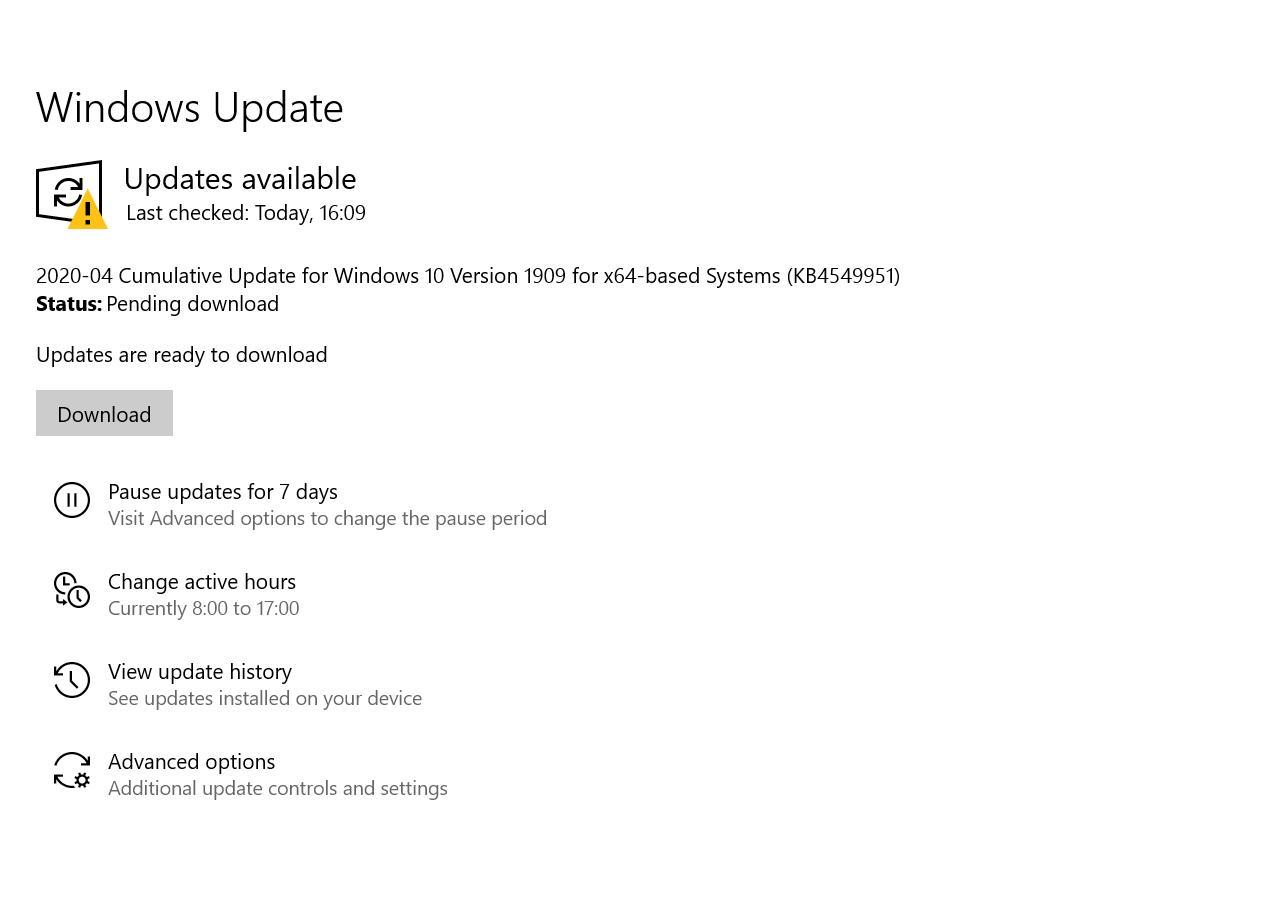 Патч Windows 10 KB4549951 ломает систему: синий экран смерти, перезагрузки инетолько