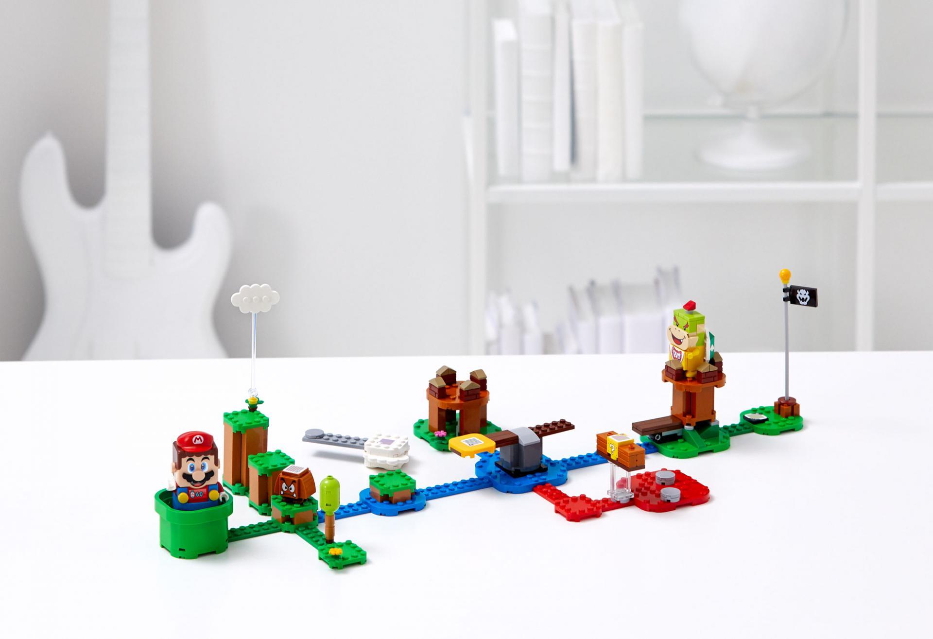 Super Mario появится вмире LEGO Благодаря сотрудничеству сNintendo