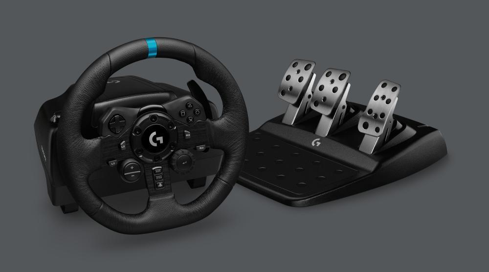 Даже профессиональные гонщики McLaren F1 оценили руль ипедали Logitech G923