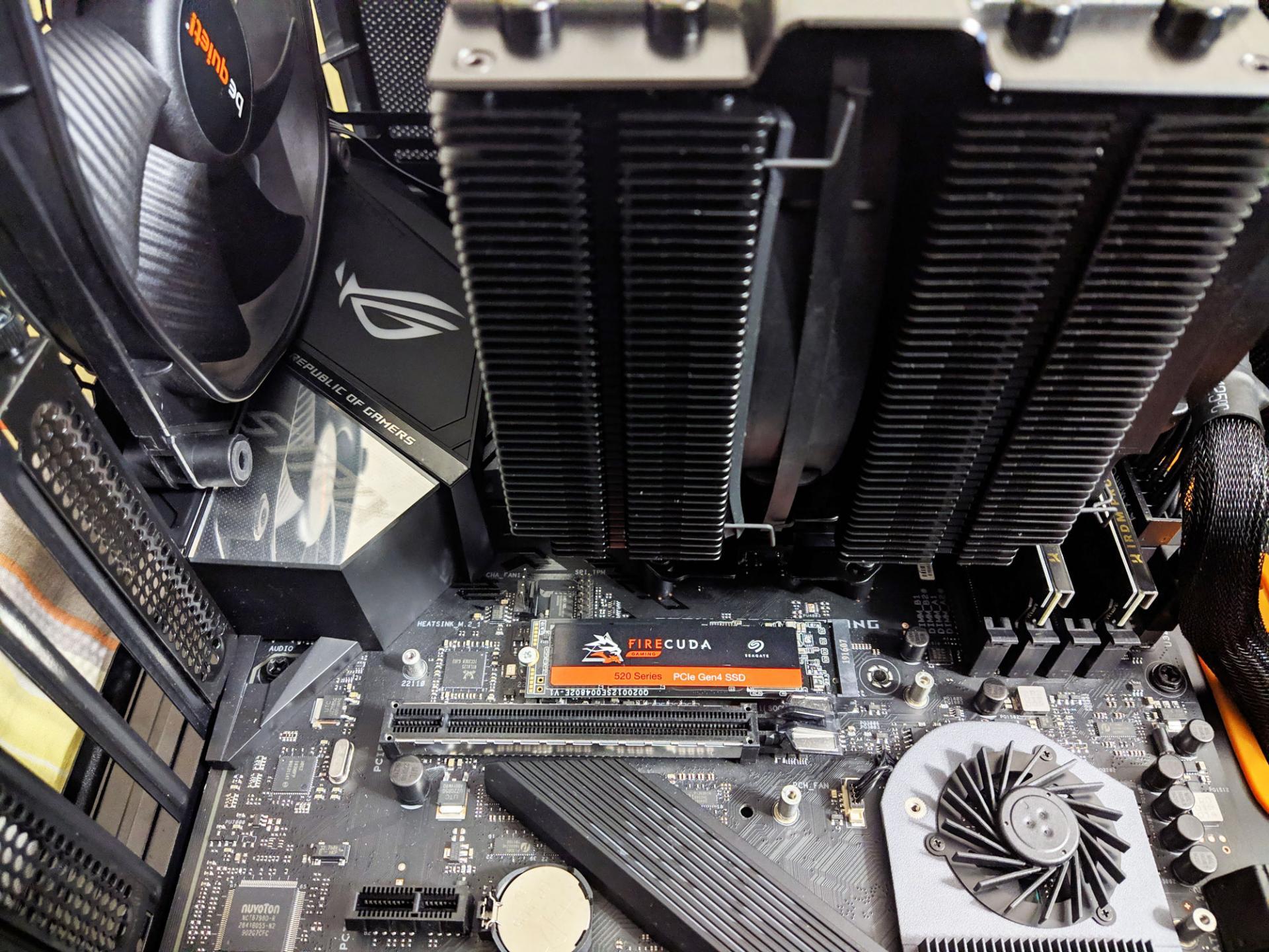 Тест-драйв SSD NVMe Seagate Firecuda 520, 1 Тб