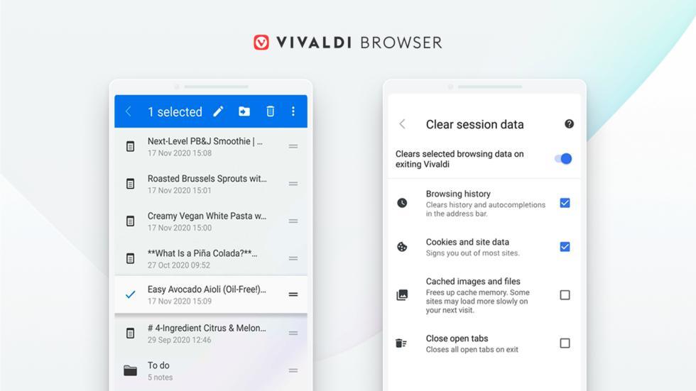 Браузер Vivaldi 3.5 вышел наAndroid