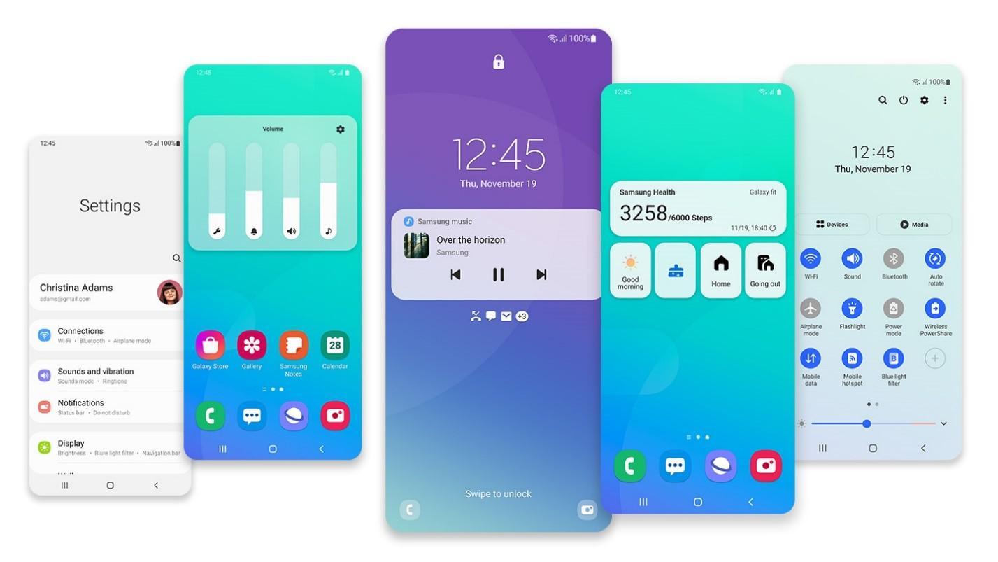 Samsung обновляет популярные смартфоны Galaxy доOne UI2.5 иOne UI3.0