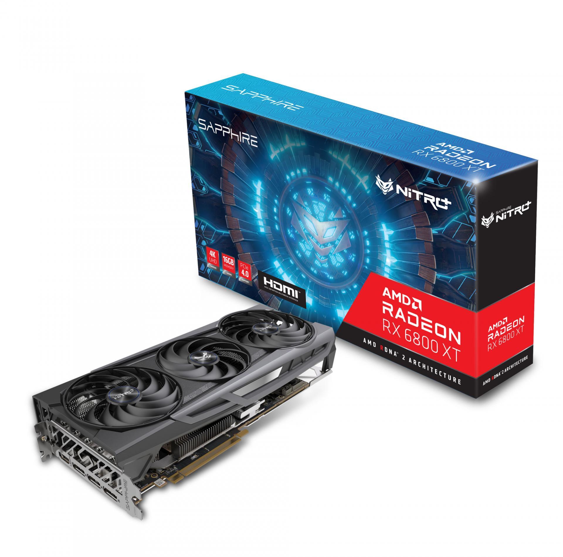 Sapphire выпускает NITRO+ иPulseAMD Radeon RX6800 сдикой производительностью