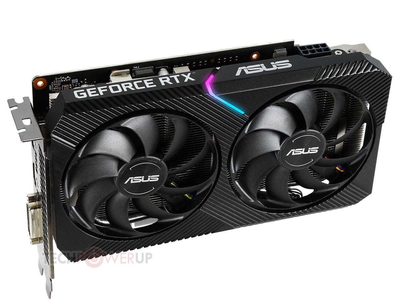 Asus выпустила видеокарту GeForce RTX 2060 DUAL Mini для конкуренции сradeonRX5600 XT