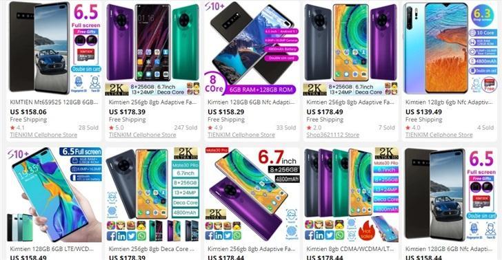 Фейковые смартфоныHuawei иSamsung заполонили Aliexpress