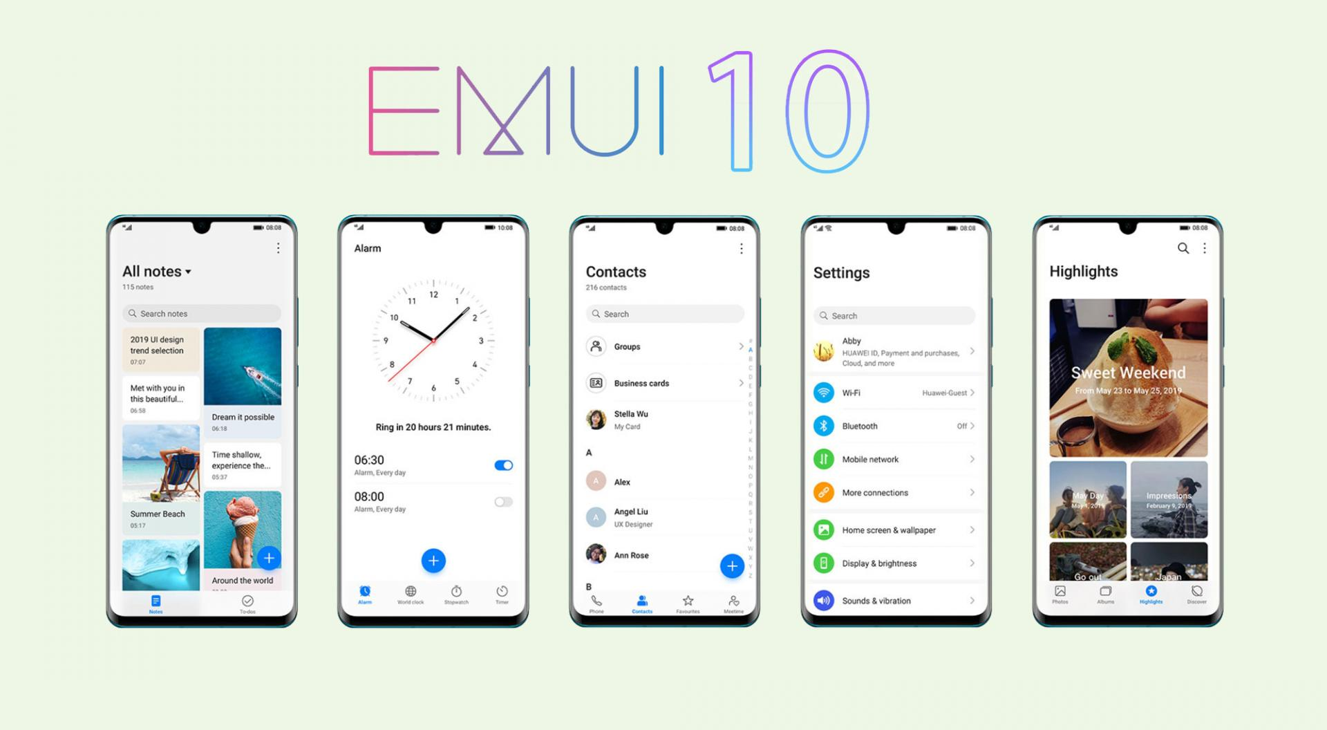 Названы смартфоны Huawei/Honor, которые получат EMUI 10 вмарте
