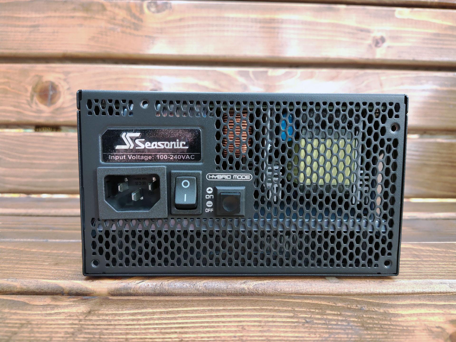 Обзор блока питания Seasonic Prime GX-750