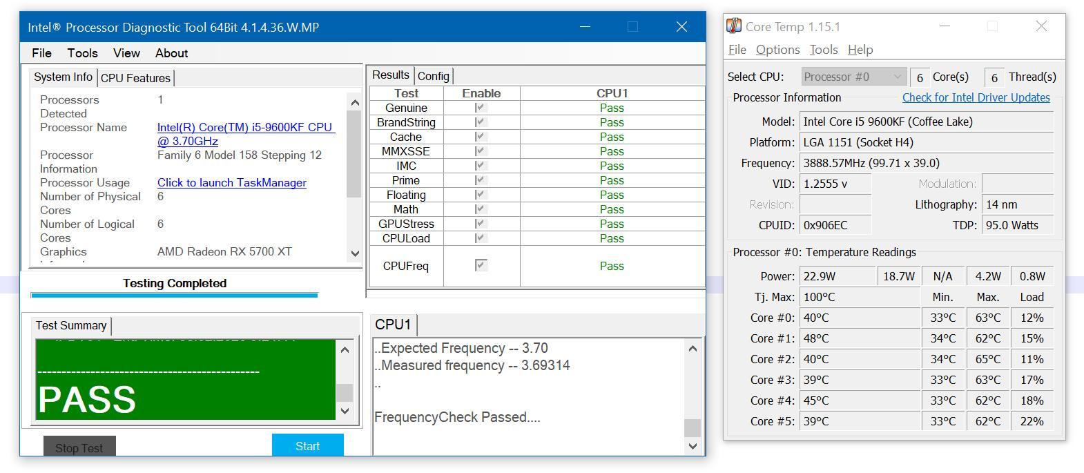 Обзор возможностейпроцессораIntel Core i5-9600KF сохлаждением Noctua
