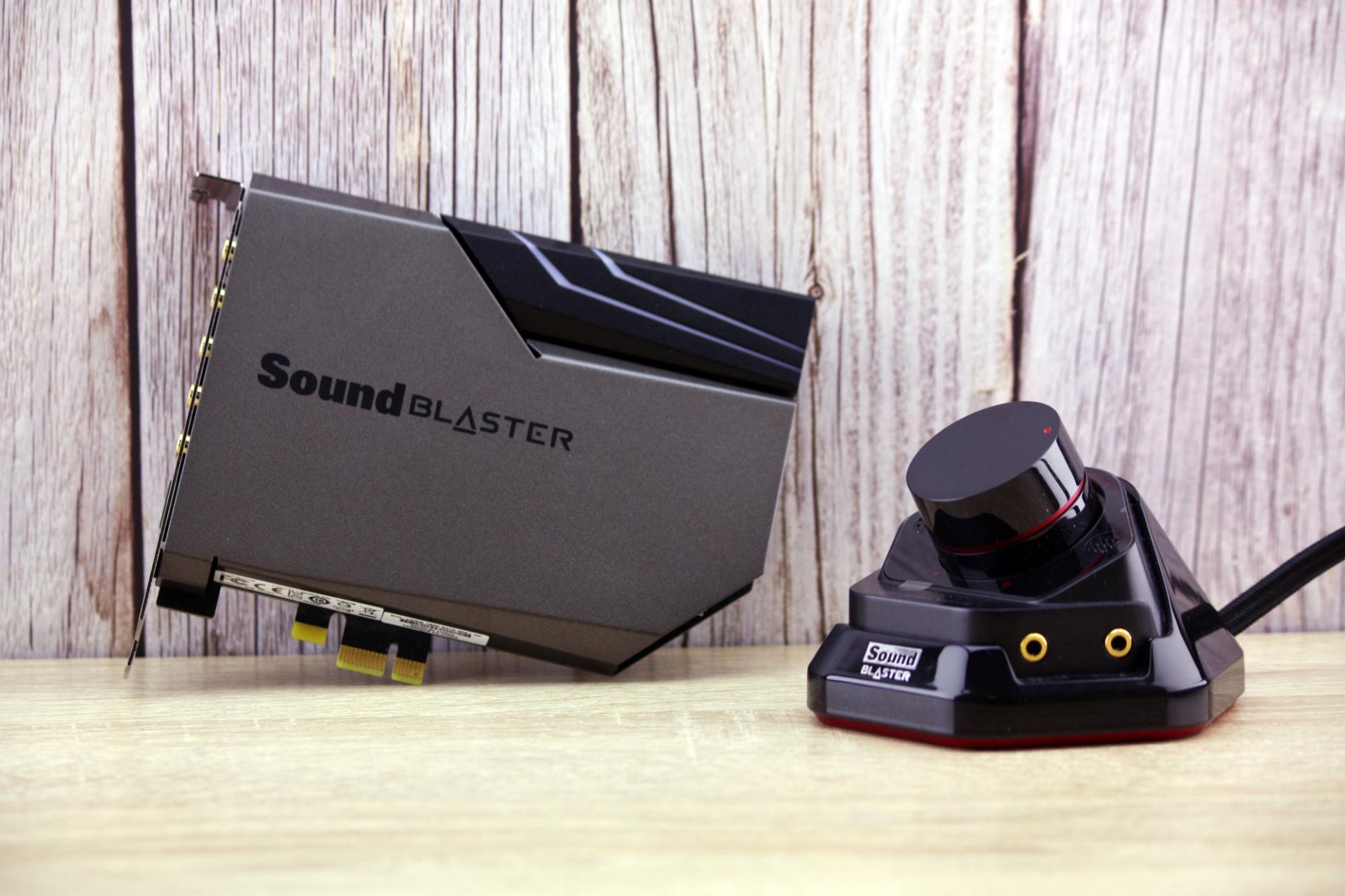 Обзор звуковой карты Creative Sound Blaster AE-7
