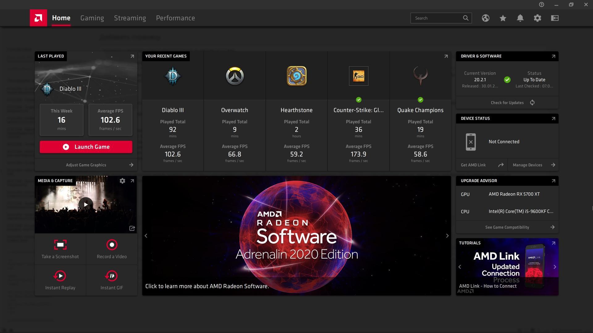 Скачиваем иобновляем драйвер видеокарт Radeon доAdrenalin 20.2.1 Beta