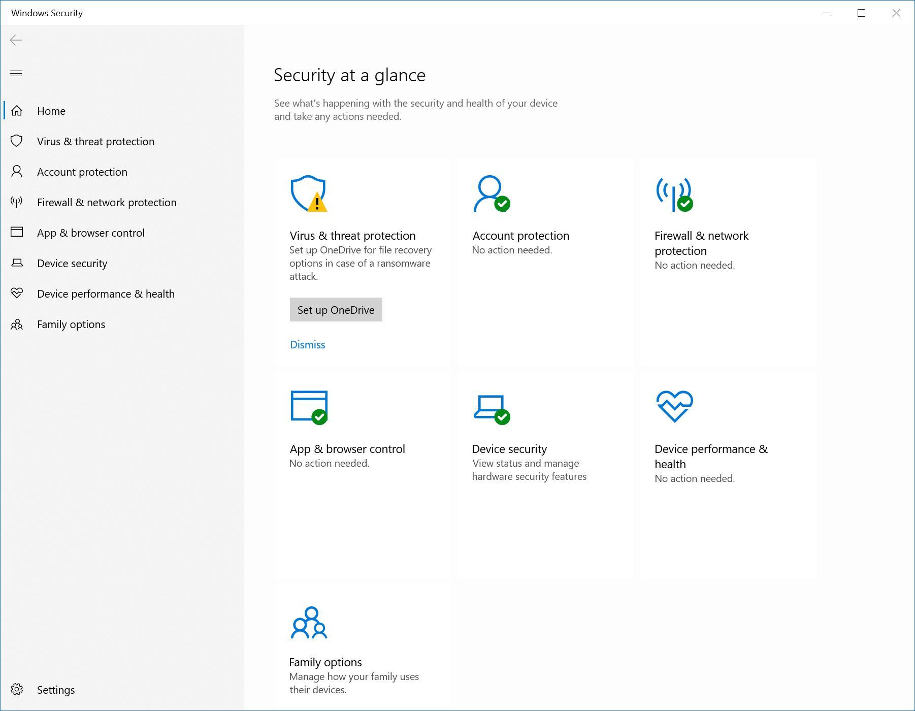 Встроенный вWindows 10 антивирус Defender отбил 100% атак при тестировании