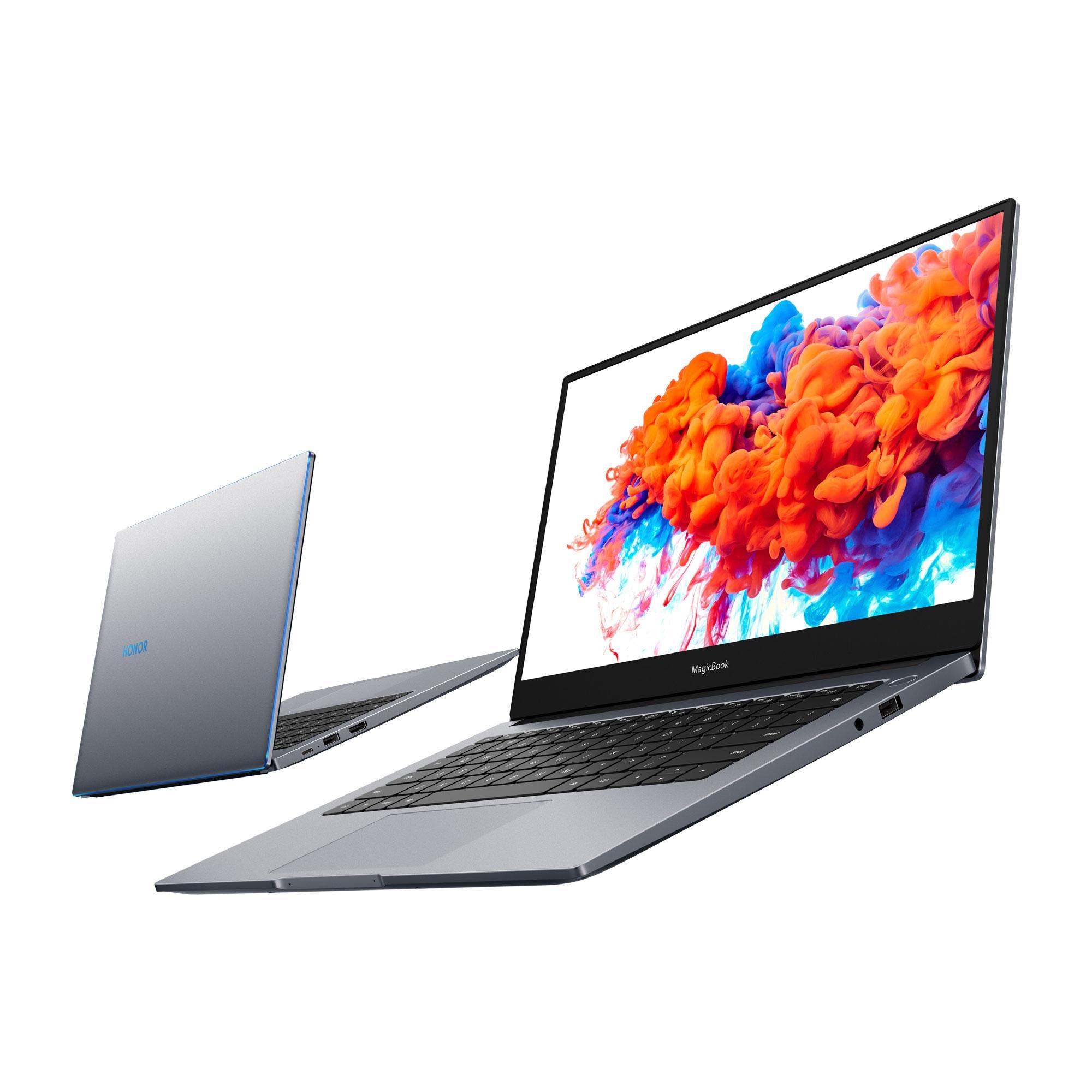 УHonor появились 2 новых ноутбука MagicBookиумные часы MagicWatch