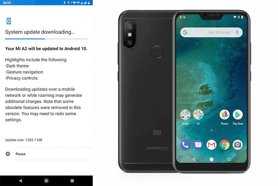 Xiaomi MiA2 обновляется доAndroid 10, нонесовсем удачно