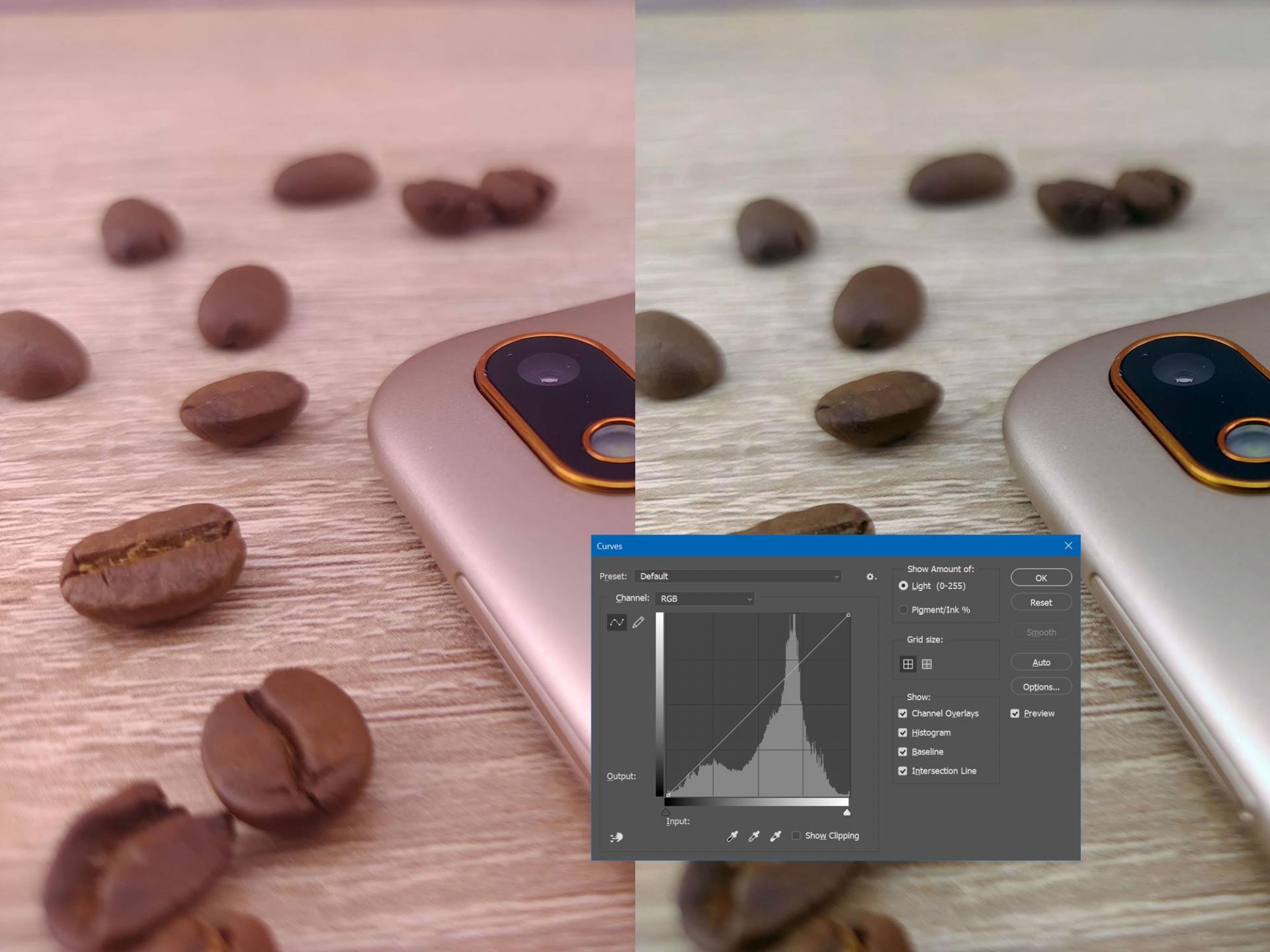 Как добиться адекватной автоматической цветокоррекциивPhotoshop