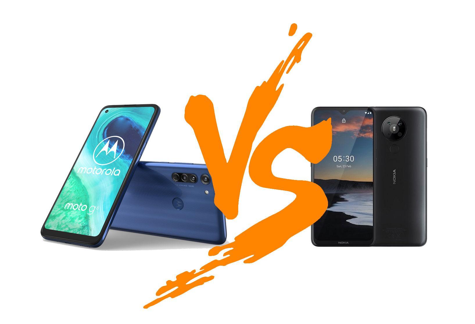 Nokia 5.3 против Moto G8: какой избюджетников получше будет?