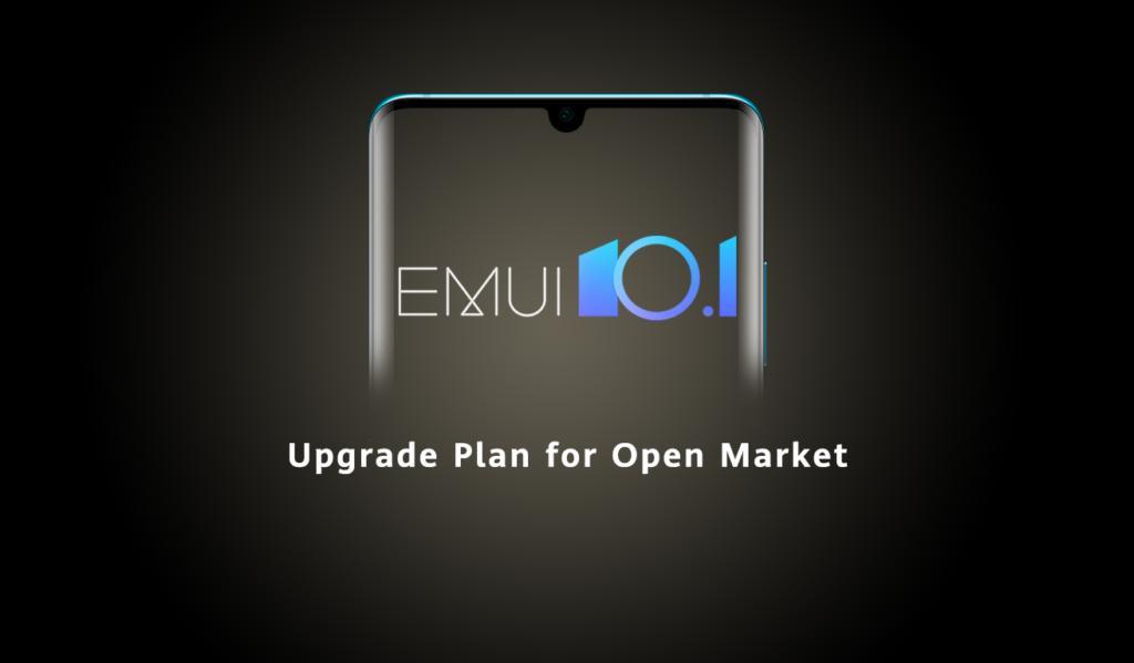 Обновленное расписание раздачи EMUI 10.1 насмартфоны Huawei