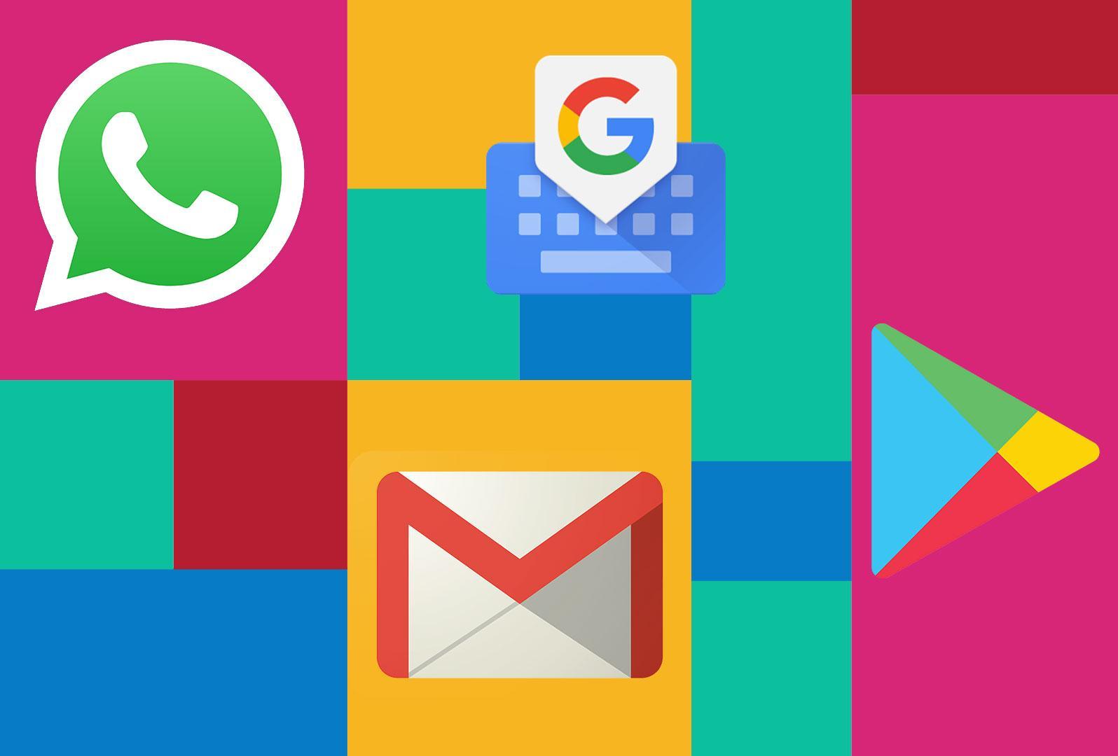 Обновляем много важного отGoogle: Play Store, GBoard, Gmail иещё WhatsApp