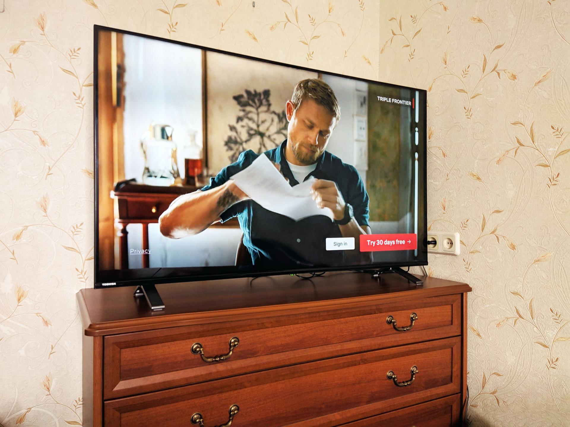 Тест-драйв телевизора Toshiba U5069