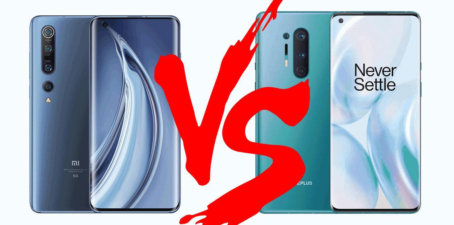 Xiaomi Mi10 Pro или OnePlus 8 Pro – что однозначно лучше?
