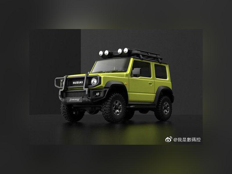 Xiaomi выпустила Suzuki Jimmy, оценив в25 долларов