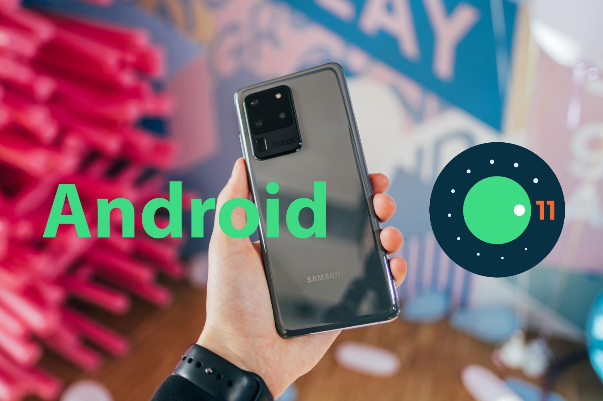 Названы смартфоны Samsung, которые получат обновление Android 11