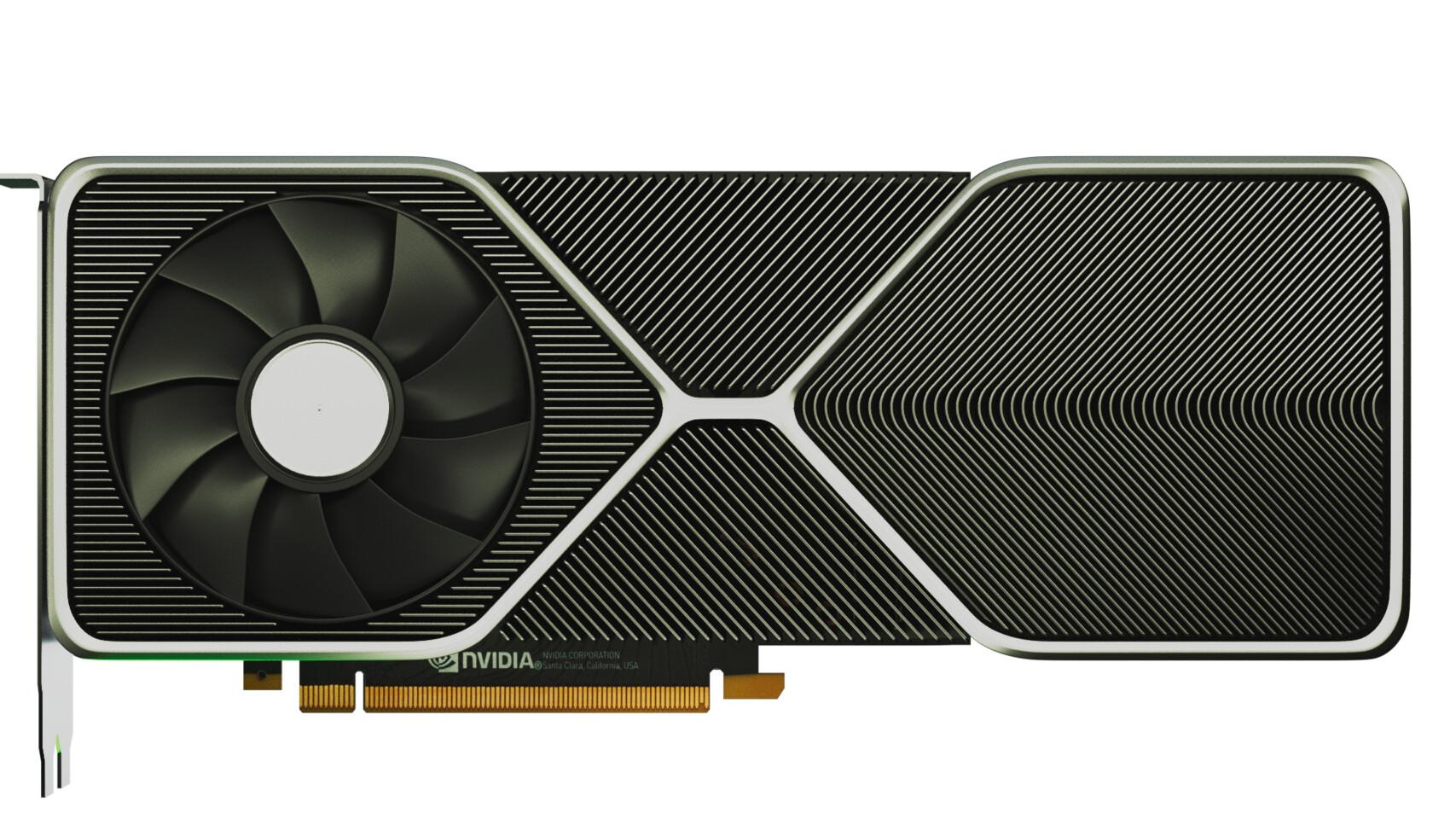 NVIDIA GeForce RTX 3080 может выглядеть так. Фаны сделали рендер пофото
