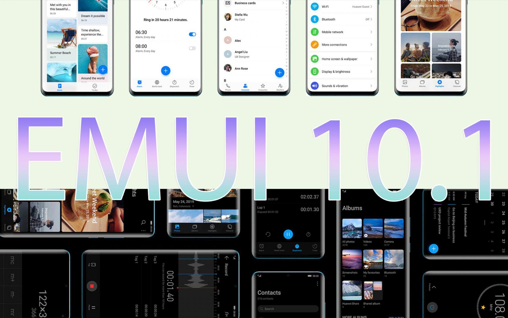 Официально отHuawei: какие смартфоны получат EMUI 10.1 вРоссии