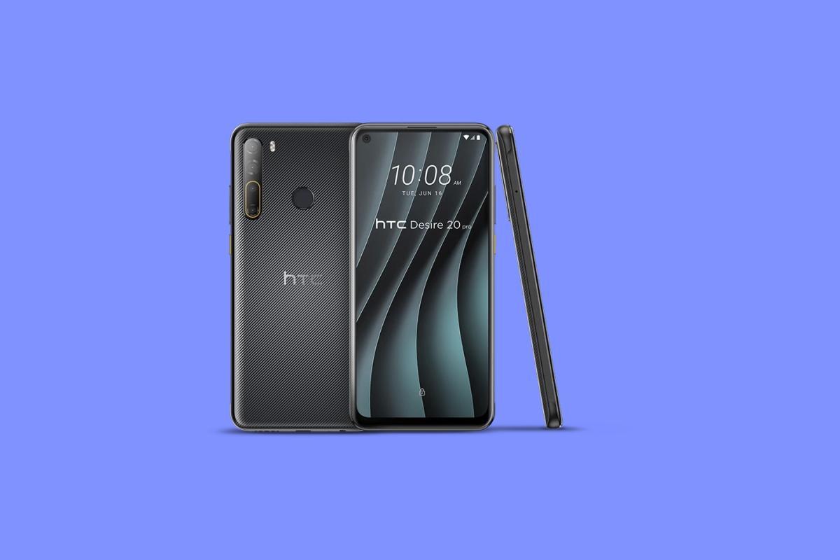 Полноразмерные обои сосмартфона HTC Desire 20 Pro уже можно скачать