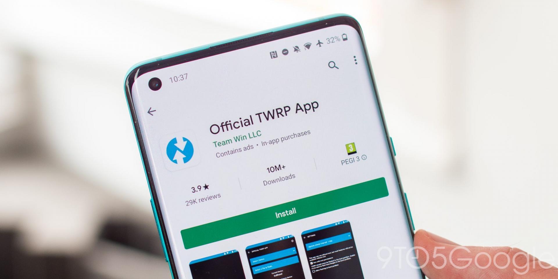 Популярное рекавери TWRP обновилось доверсии3.4 иподдерживает смартфоны наAndroid 10