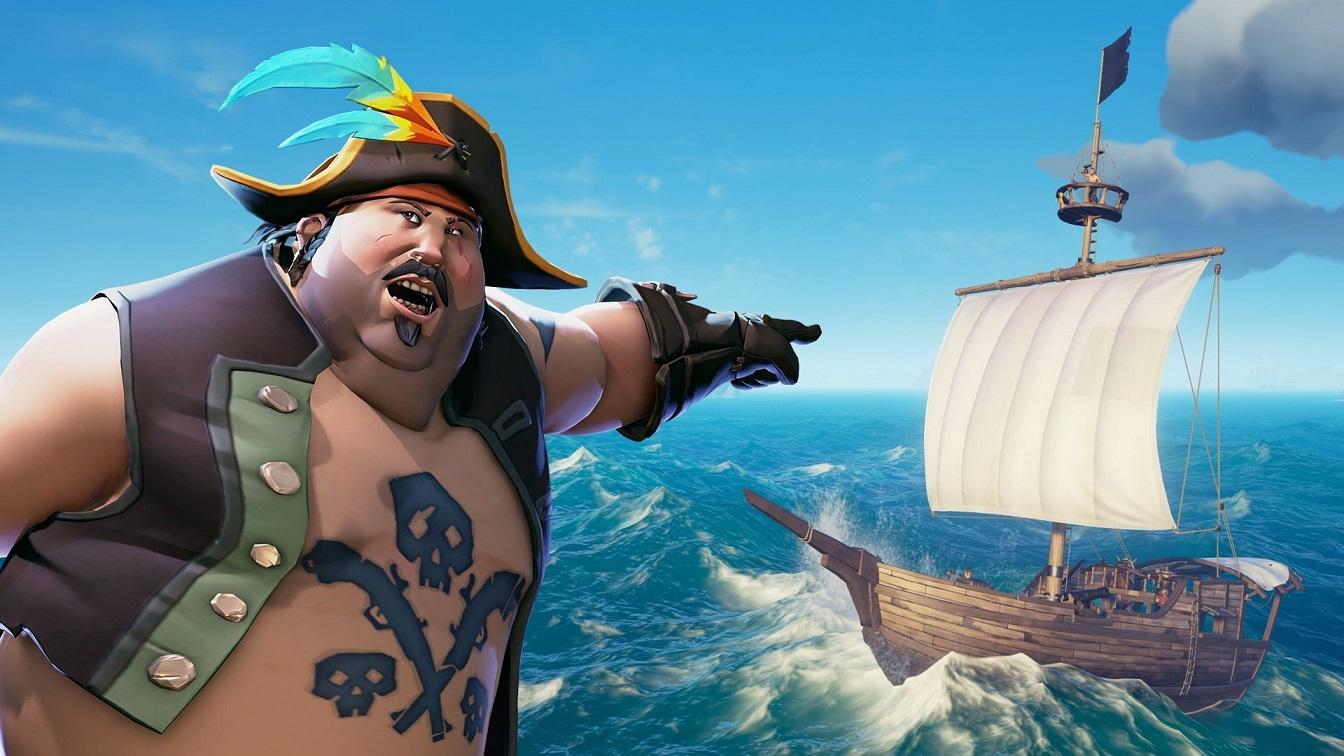 Приключенческая игра про пиратов Sea ofThieves бьет все рекорды вSteam