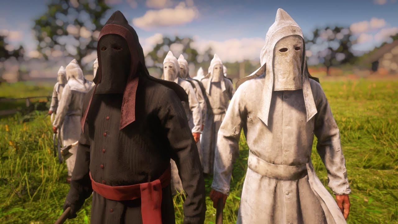 Расизм в Red Dead Online. Читеры используют облик членов ку-клукс-клана