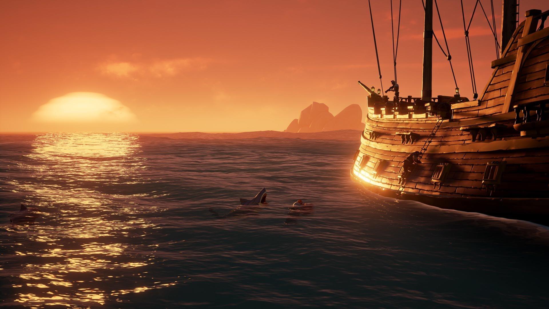 Sea of Thieves, которая была эсклюзивом для Microsoft вышла в Steam