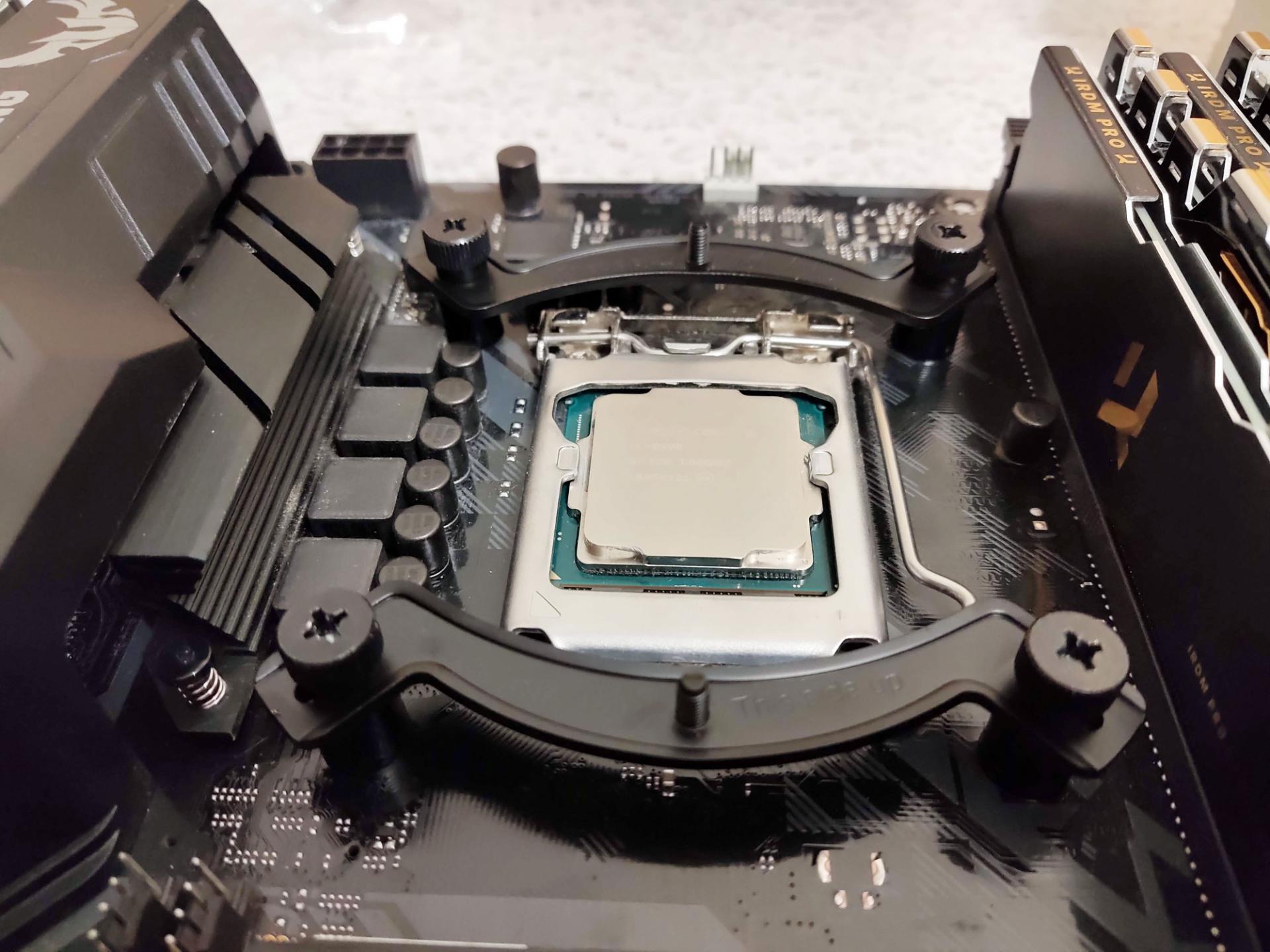 Сможетли Intel Core i5-9600KF работать сотключённым кулером