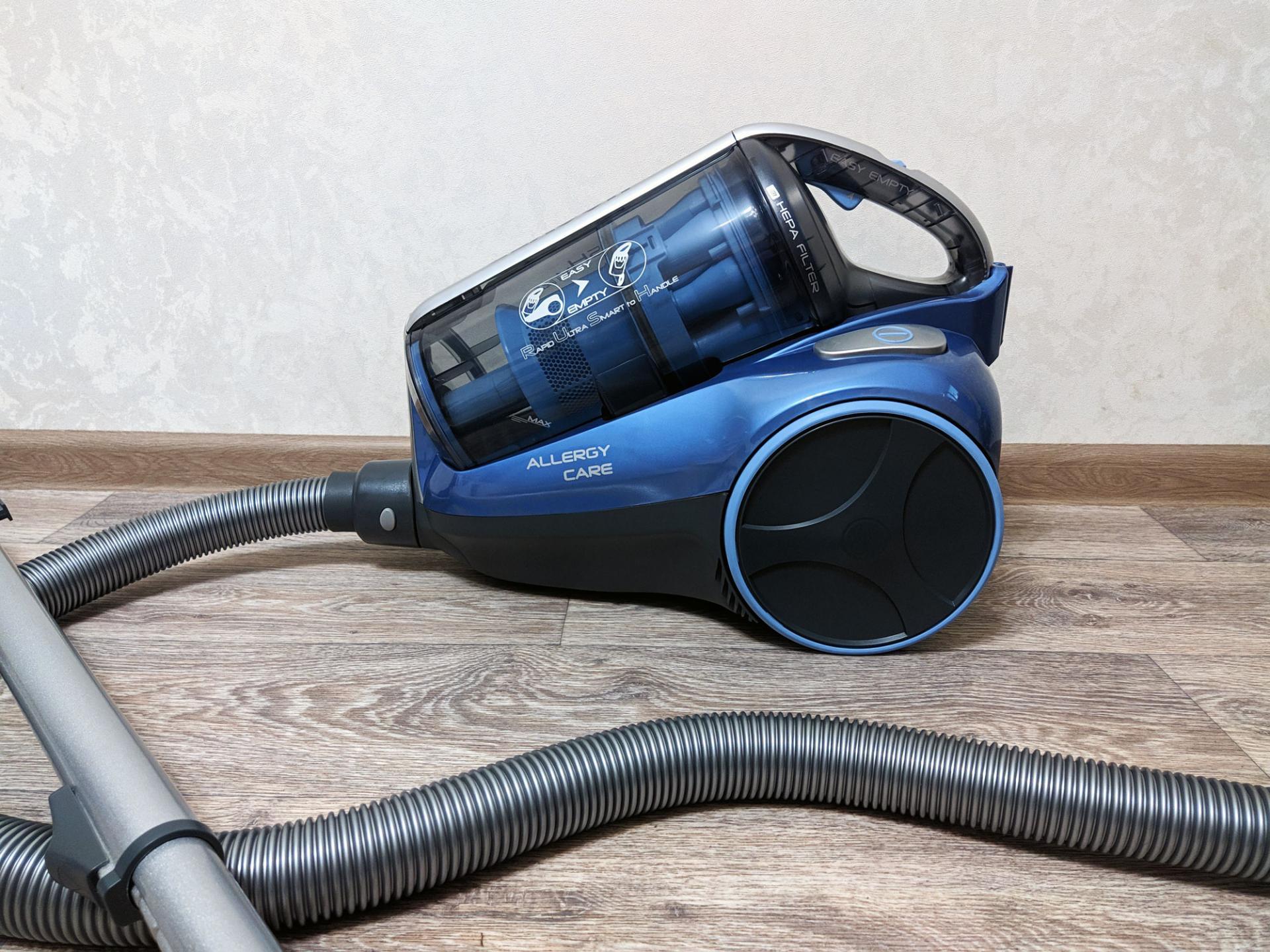 Тест-драйв пылесоса Hoover TRE1 420 019 RUSH EXTRA