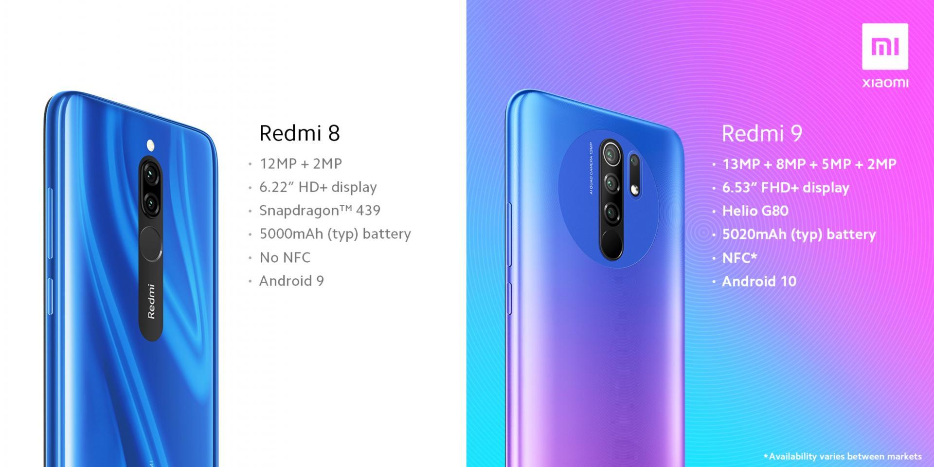 Xiaomi рассказала, чем Redmi 8 отличается отRedmi 9. Несём деньги?
