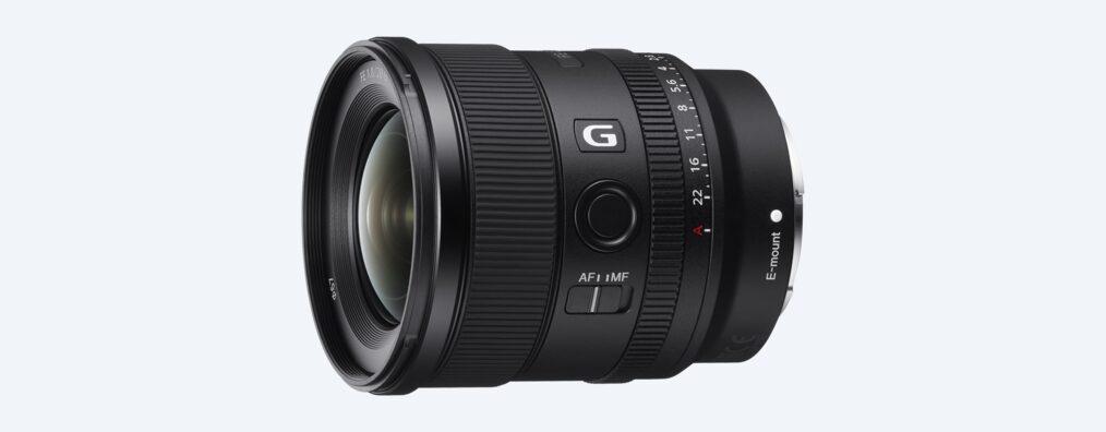Новый объектив SonyFE20 ммF1,8 Gсфиксированным фокусным расстоянием