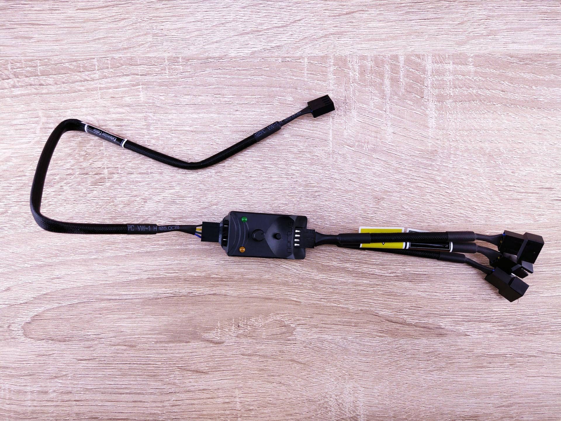 Обзор корпусных вентиляторов Noctua NF-A14, NF-S12A иконтроллера NA-FC1