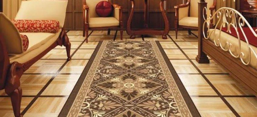 Выбираем ковровую дорожку – стильное ипрактичное украшение интерьера
