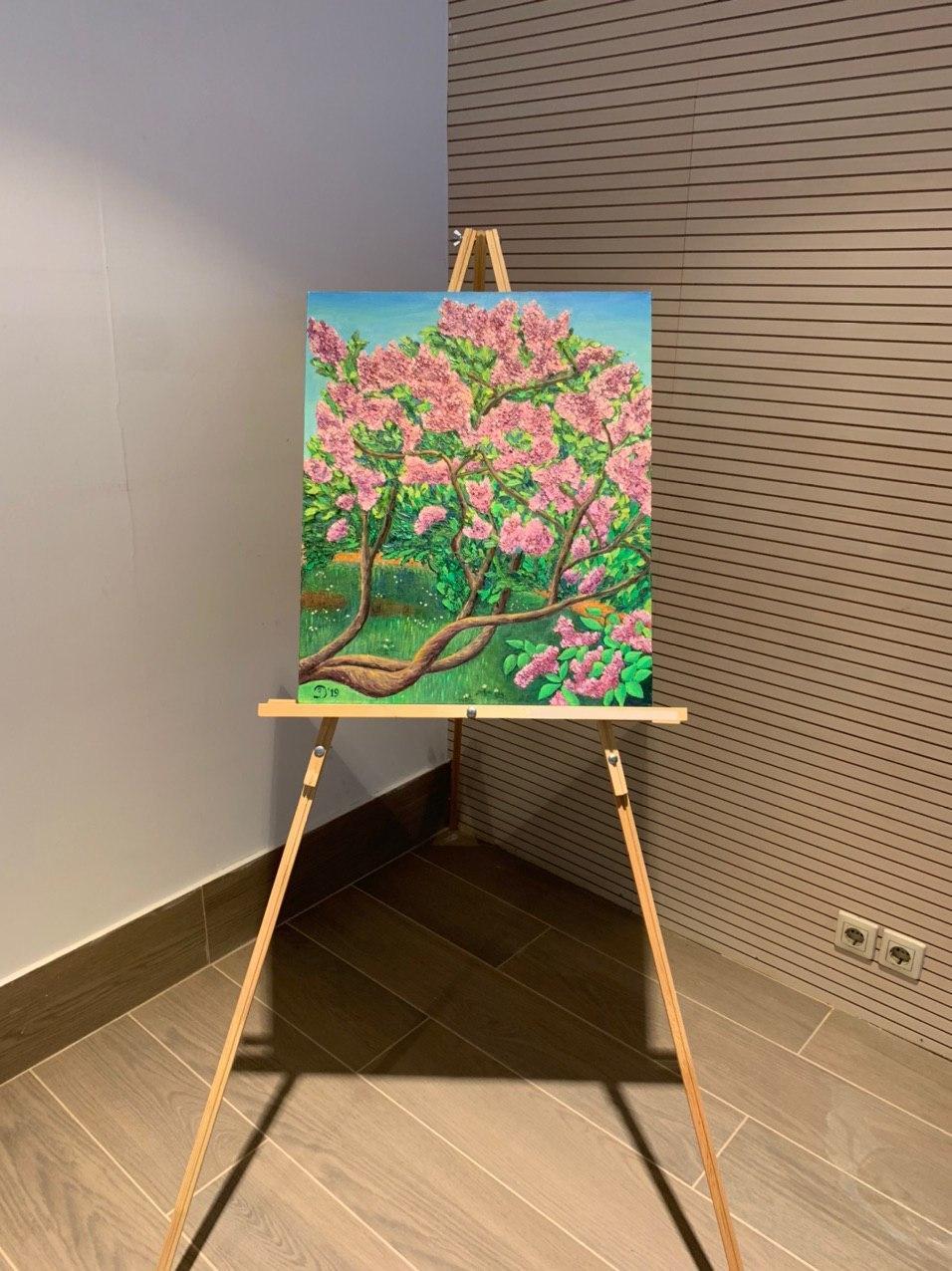 Выставка картин Заремы Джабиевой прошла вАуди Центре Таганка