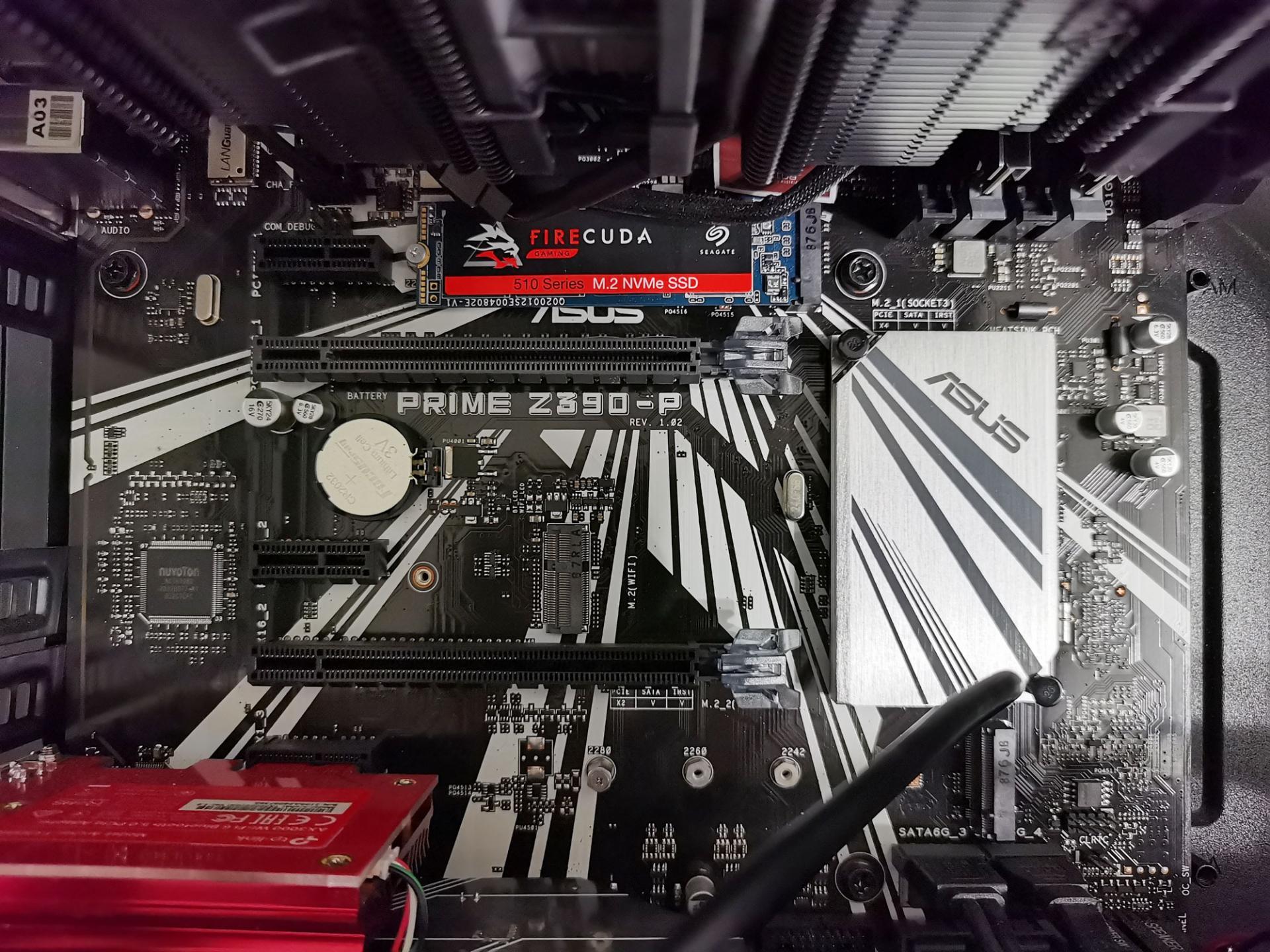 Дешёвый китайский радиатор смог охладить топовый SSD Seagate Firecuda 510