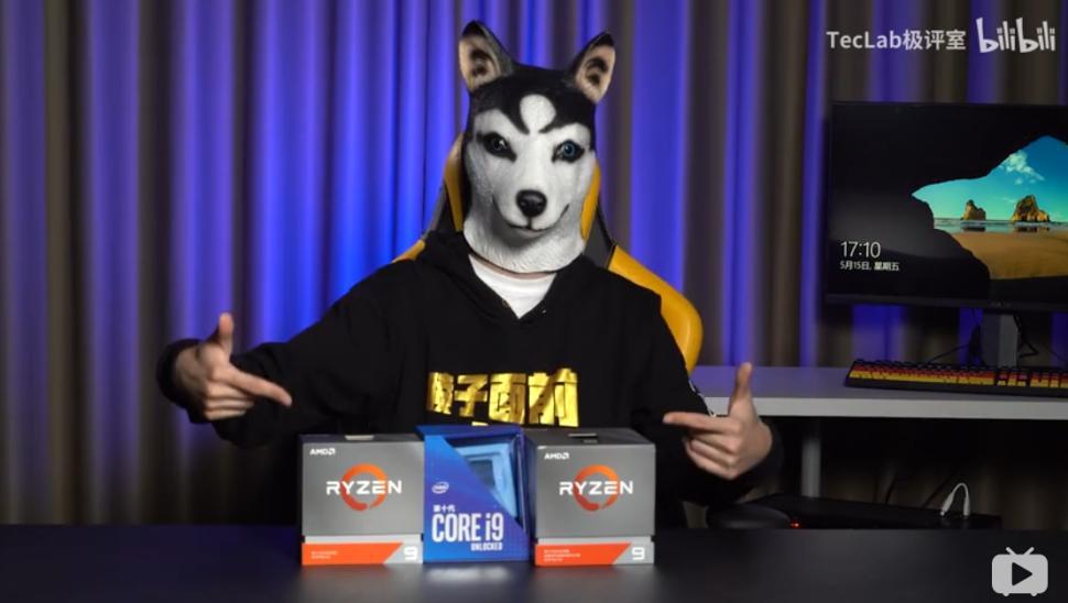 Intel Core i9 10900K едва смог обогнать AMD Ryzen 9 3900X втестировании