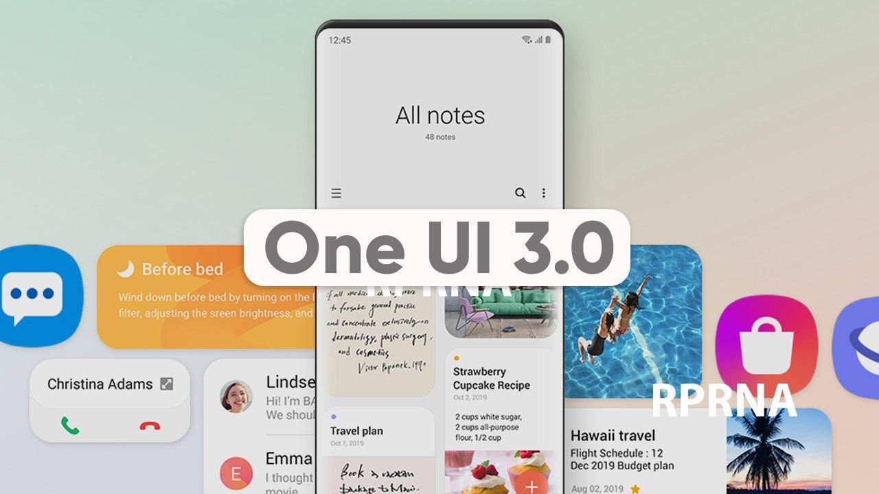 Какие модели смартфонов Samsung могут получить One UI3.0