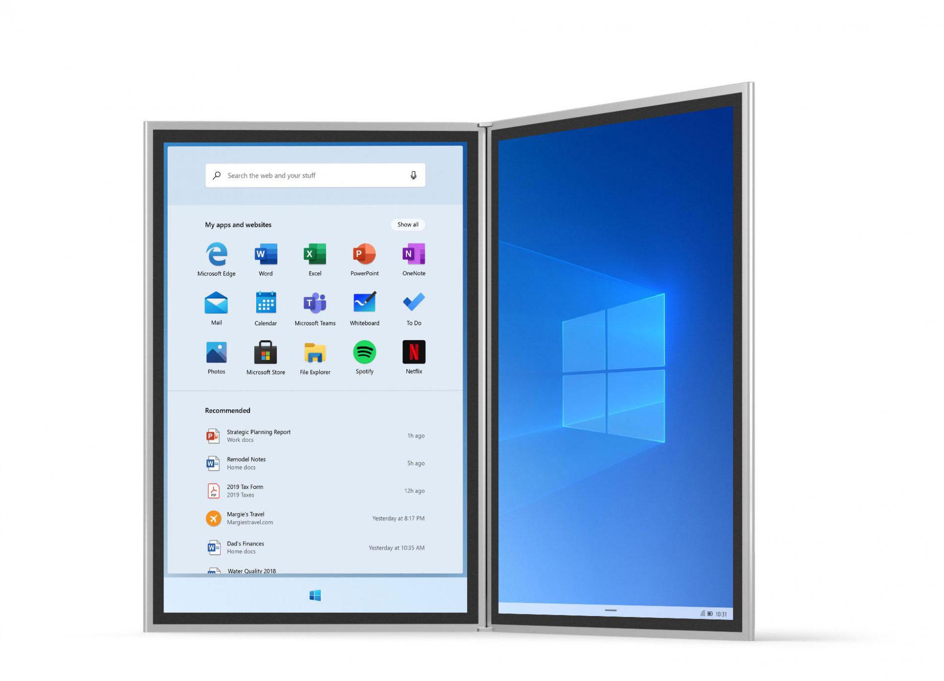 Microsoft готовит кзапуску Windows 10X